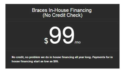 Braces and Invisalign in OC in House Financing